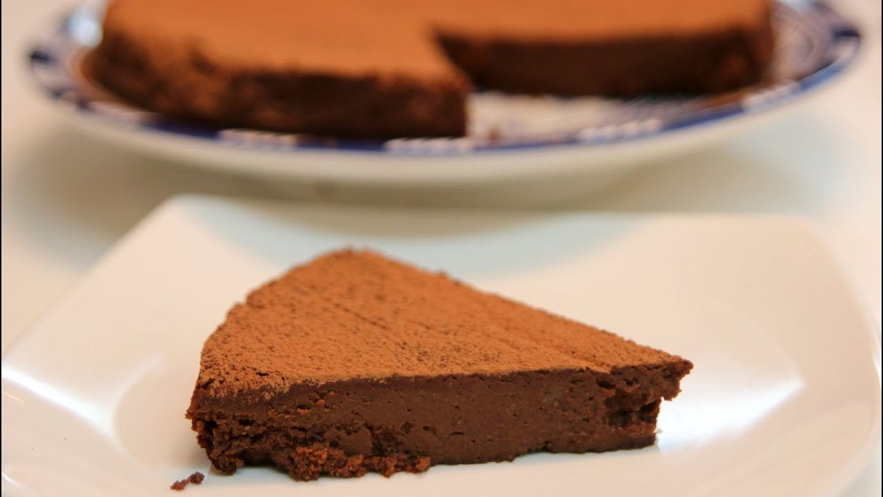 Chocolate Chickpea Cake (Gluten free) Recipe - CookingWithAlia ...