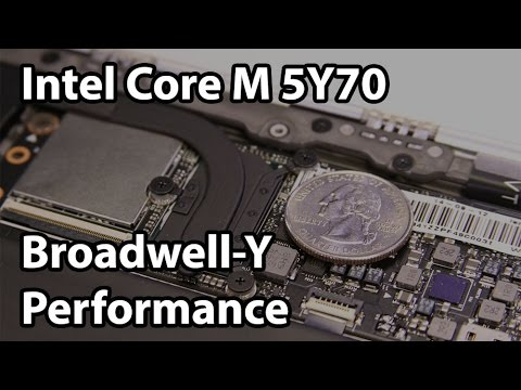 Intel Core M 5Y70 Review and Performance: Testing Broadwell-Y
