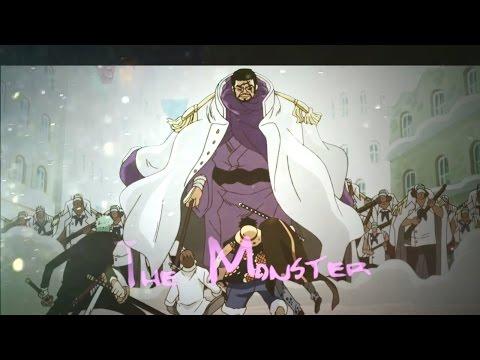 [TRIBUTE] Issho / Fujitora ▪ 「AMV」 ▪ ♪The Monster♪ ᴴᴰ | SuperFranki