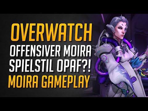 OFFENSIVER MOIRA SPIELSTIL OPAF? | So offensiv spiele ich Moira ★ Overwatch Deutsch