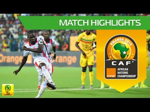 Mali vs Uganda   Orange African Nations Championship, Rwanda 2016