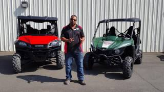 Mudd Man Review and Comparison of Pioneer 1000-5 & Yamaha Wolverine