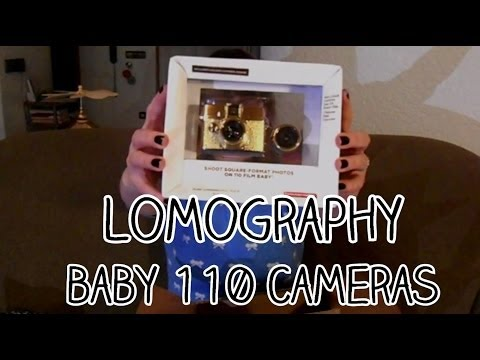 Lomography Unboxing – Diana Baby and Fisheye Baby 110 cameras