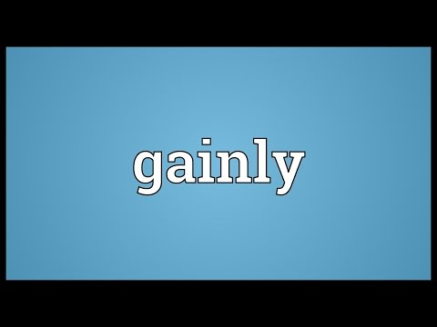 Header of gainly