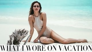 WHAT I WORE & DID ON VACATION | MALDIVES EDIT | Lydia Elise Millen