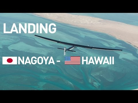 LIVE: Solar Impulse Airplane - Landing in Hawaii - #RTW Attempt