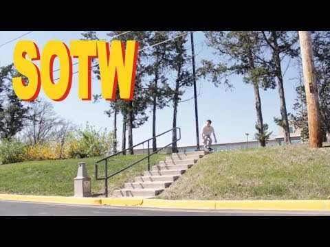 LAZY GRIND NOLLIE BS FLIP - Mike Connell - SOTW