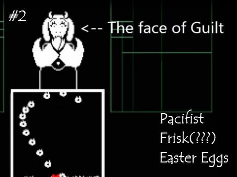 Undertale ( Pacifist + Frisk/New name??? + Easter Eggs ) Part 2