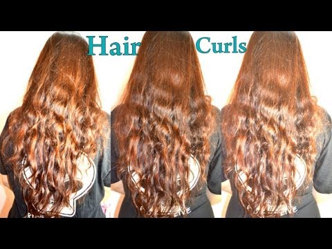 no heat wavy hair tutorial how to do heat free hair curls