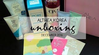 MommyLevy - Althea Haul Unboxing December 2016