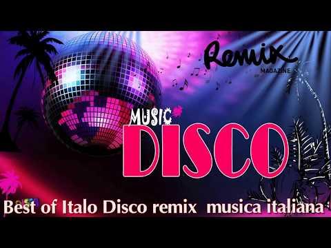 Best of Italo Disco remix   EuroDisco Mix   musica italiana 2017