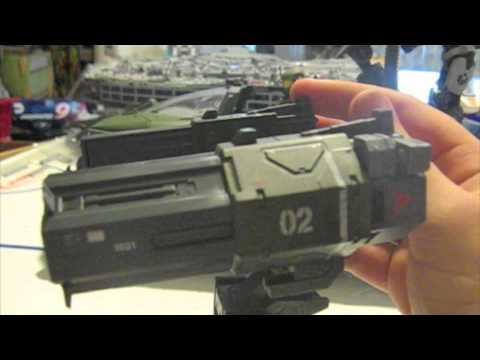 McFarlane Toys Halo Reach Missile launcher vehicle upgrade pack review