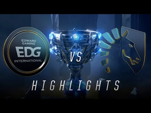 EDG vs TL - Worlds Group Stage Day 7 Match Highlights (2018)