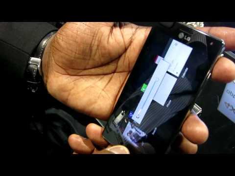 LG Optimus 4X HD: Hands-on video