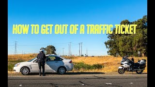 How to get out of a traffic ticket? Police share their tips!