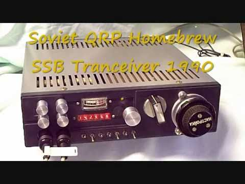 QRP  Transceiver Homebrew Ham Radio Russian