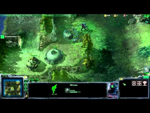 StarCraft 2 Catch'n'Run Automaton Gameplay