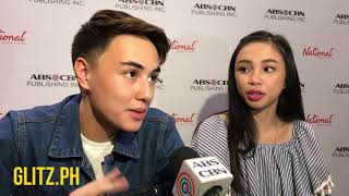 Mayward Interview: Christmas plans for Edward Barber and Maymay Entrata