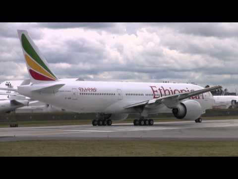 Ethiopian Airlines 777 First Flight