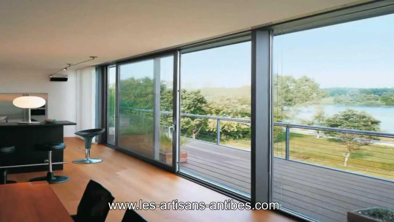 baies vitr es antibes marc lacombe youtube. Black Bedroom Furniture Sets. Home Design Ideas