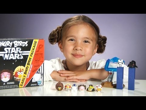 ANGRY BIRDS STAR WARS TOYS! Series 1 Mystery Bag & Early Birds Package by HASBRO