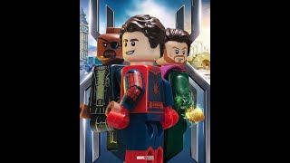Spider-Man Far From Home movie in Lego