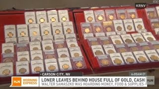 $7 million gold hoard found in loner's home