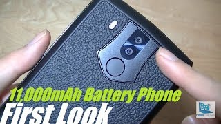Unboxing: Oukitel K10 - 11,000mAh Battery Android Phone!