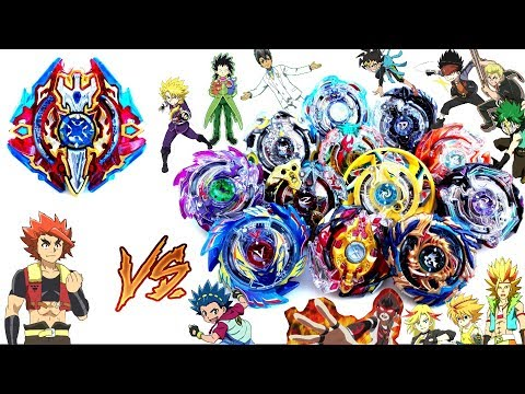 SIEG XCALIBUR vs ALL BEYBLADE GOD LAYERS-Let's Test it! Beyblade Burst Battle Evolution! ベイブレードバースト神 thumbnail