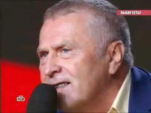 Жириновский разбил микрофон