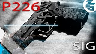 El pistolero del Capeta SIG Sauer P226 OP