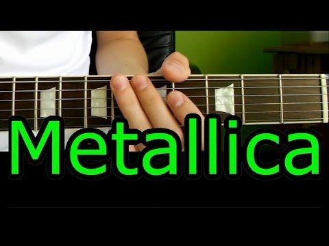 Jak Zagrać - Metallica - Enter Sandman - Riff - Lekcja HD