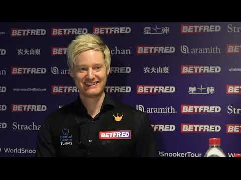 Robertson Downs The Hawk To Reach Quarters | Betfred World Championship