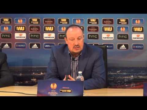Europa League: Rafa Benitez presenta Napoli-Trabzonspor (sintesi)