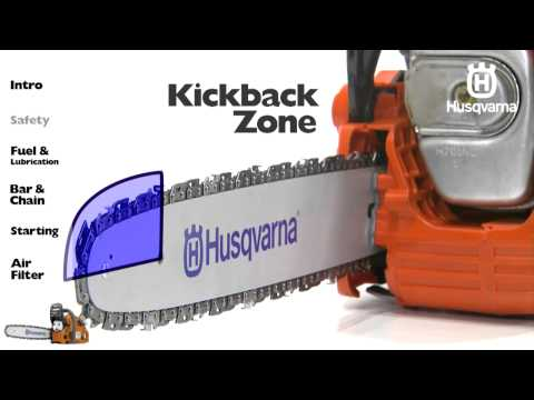 Husqvarna Chainsaws - Safety