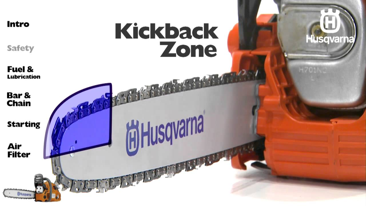 Husqvarna Chainsaws Safety