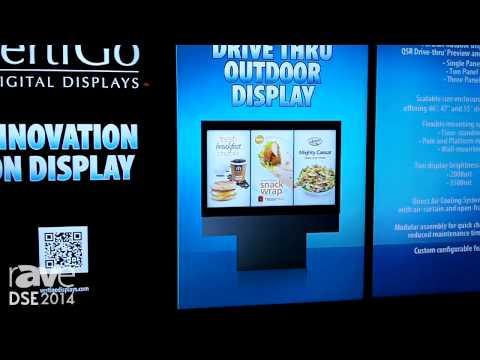 DSE 2014: VertiGo Talks About the Pronto Series, a Triple 47in Display Outdoor Menu