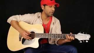 Kya Hua Tera Vaada (unplugged Version) - Guitar Lesson In Hindi For Beginners By VEER KUMAR