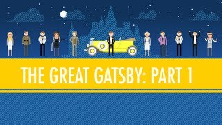 The Great Gatsby - Like Pale Gold - The Great Gatsby Part I: Crash Course English Literature #4