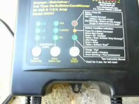 BatteryMinder Reconditioning