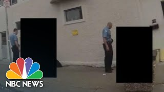 Watch: Police Release Heavily-Redacted Bodycam Video Of George Floyd Arrest | NBC News NOW