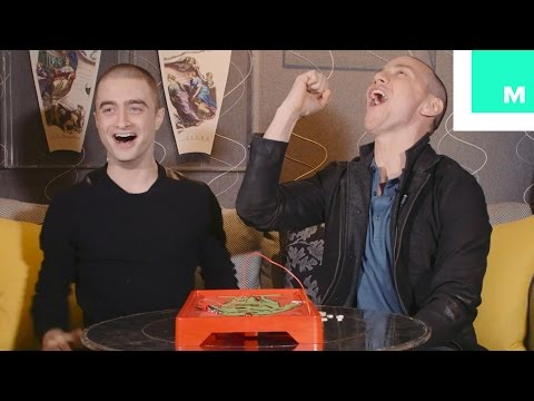 Daniel Radcliffe & James McAvoy Talk Boy Bands and  X-Men While Playing Operation