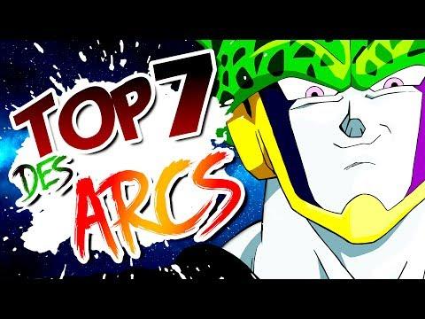 LES 7 MEILLEURS ARCS DE DRAGON BALL/Z/GT/SUPER - DBTOP #02