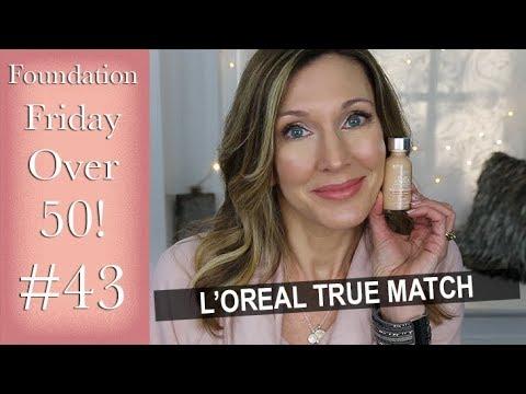 Foundation Friday Over 50 ~ L'Oreal True Match Super Blendable Makeup