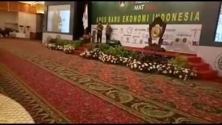 Sambutan Wapres RI Jusuf Kalla Di Kongres Ekonomi Umat Islam