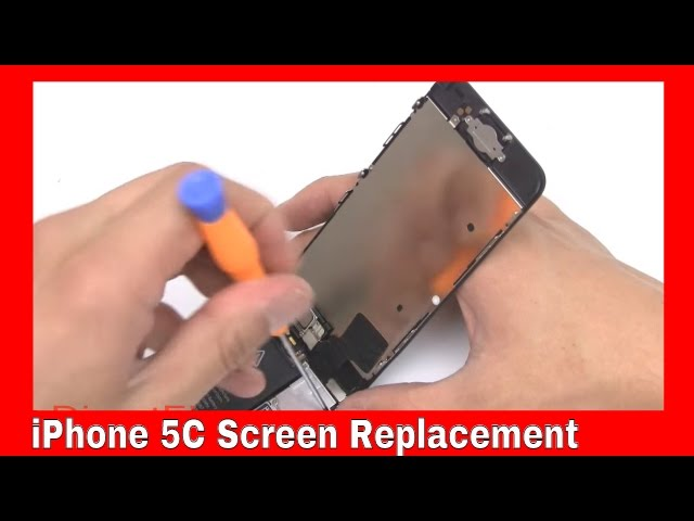 How To: Replace iPhone 5C Screen | DirectFix.com