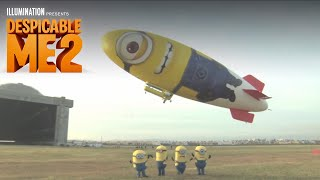 Despicable Me 2 - Despicablimp Time Lapse and Launch - 1080p HD
