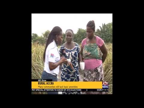 Rural Accra   AM Show on Joy News (8-1-16)