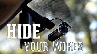 The Easy Guide to Hide Your Dash Camera's Wires (Car Cameras)