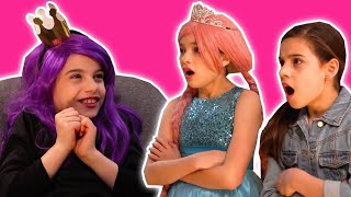 MALICE WINS 🏆 Surprise Eggs Are Gone, No More Princess Magic - Princesses In Real Life | Kiddyzuzaa